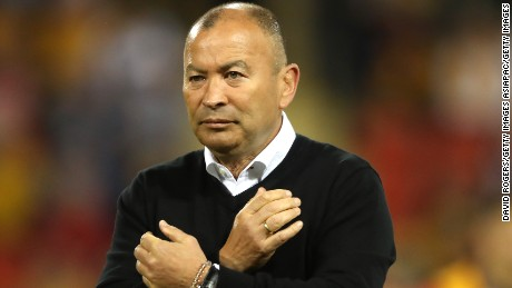 Eddie Jones has been unhappy with his treatment since returning to Australia on tour with England.