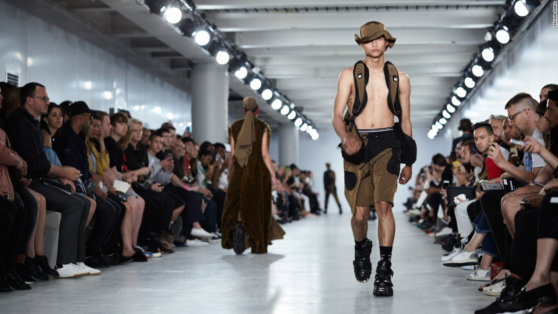 Nasir Mazhar's neo-militaristic style on show.