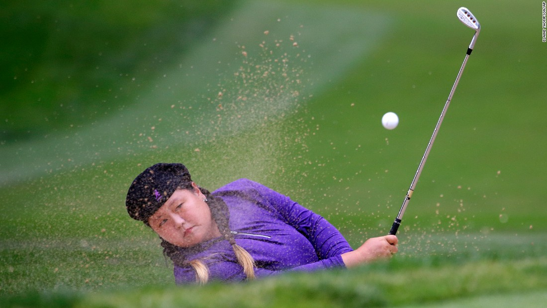 "Christina Kim hits out of a bunker during the second round of the Women's PGA Championship on Friday, June 10. <a href=""http://www.cnn.com/2016/06/07/sport/gallery/what-a-shot-sports-0607/index.html"" target=""_blank"">See 30 amazing sports photos from last week</a>"