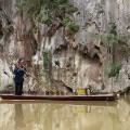 Guizhou scenary Getu bamboo raft