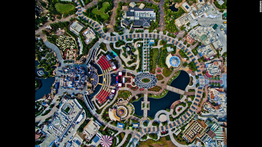 "This aerial photo shows Shanghai Disneyland before it opened to the public in June. Shanghai's municipal government had already issued an <a href=""/2016/05/25/travel/shanghai-disneyland-etiquette-guide/index.html"" target=""_blank"">etiquette guide</a> for visitors."