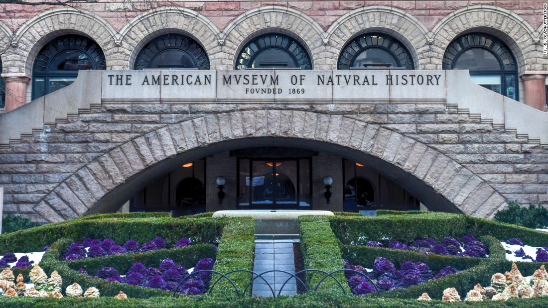 The American Museum of Natural History in New York City welcomed an even 5 million visitors in 2015.