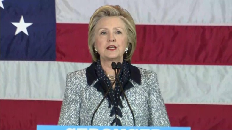 Clinton: Trump said Obama is on the side of terrorists