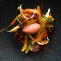 heirloom-carrots,-confit-with-&-orange-blossom-honey,-carrot-cake,-segments,-zest-&-sorbet-of-blood-orange-3