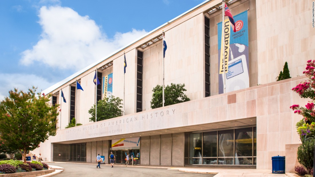 The Smithsonian National Museum of American History in Washington hosted 4.1 million visitors in 2015.
