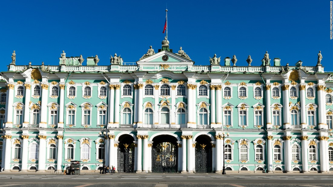 The State Hermitage in St. Petersburg, Russia, saw 3.7 million visitors in 2015.