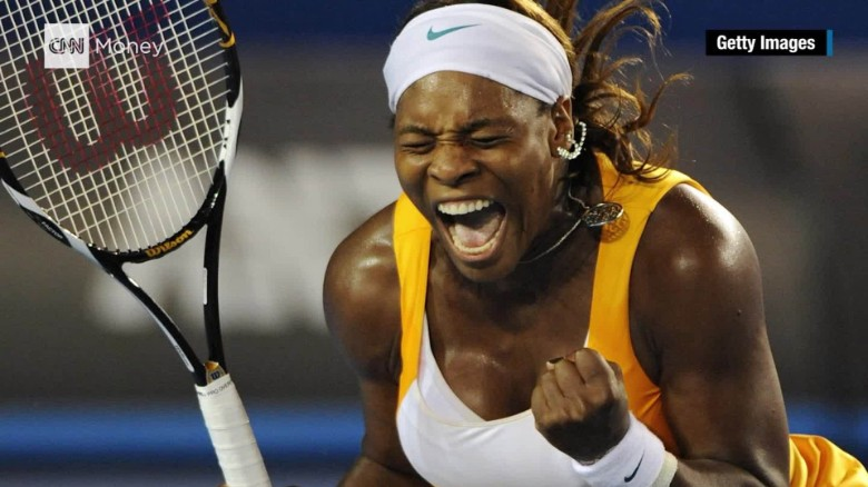 Serena Williams: 'I let my racket do the talking'