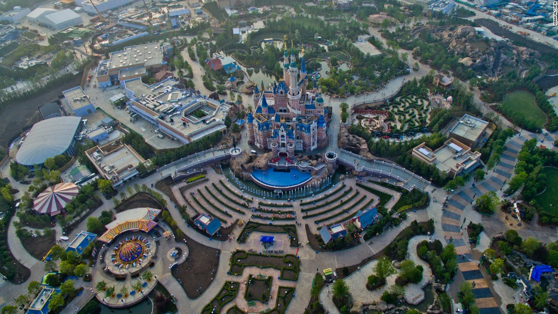 The park includes six themed lands -- Mickey Avenue, Gardens of Imagination, Fantasyland, Adventure Isle, Treasure Cove and Tomorrowland.