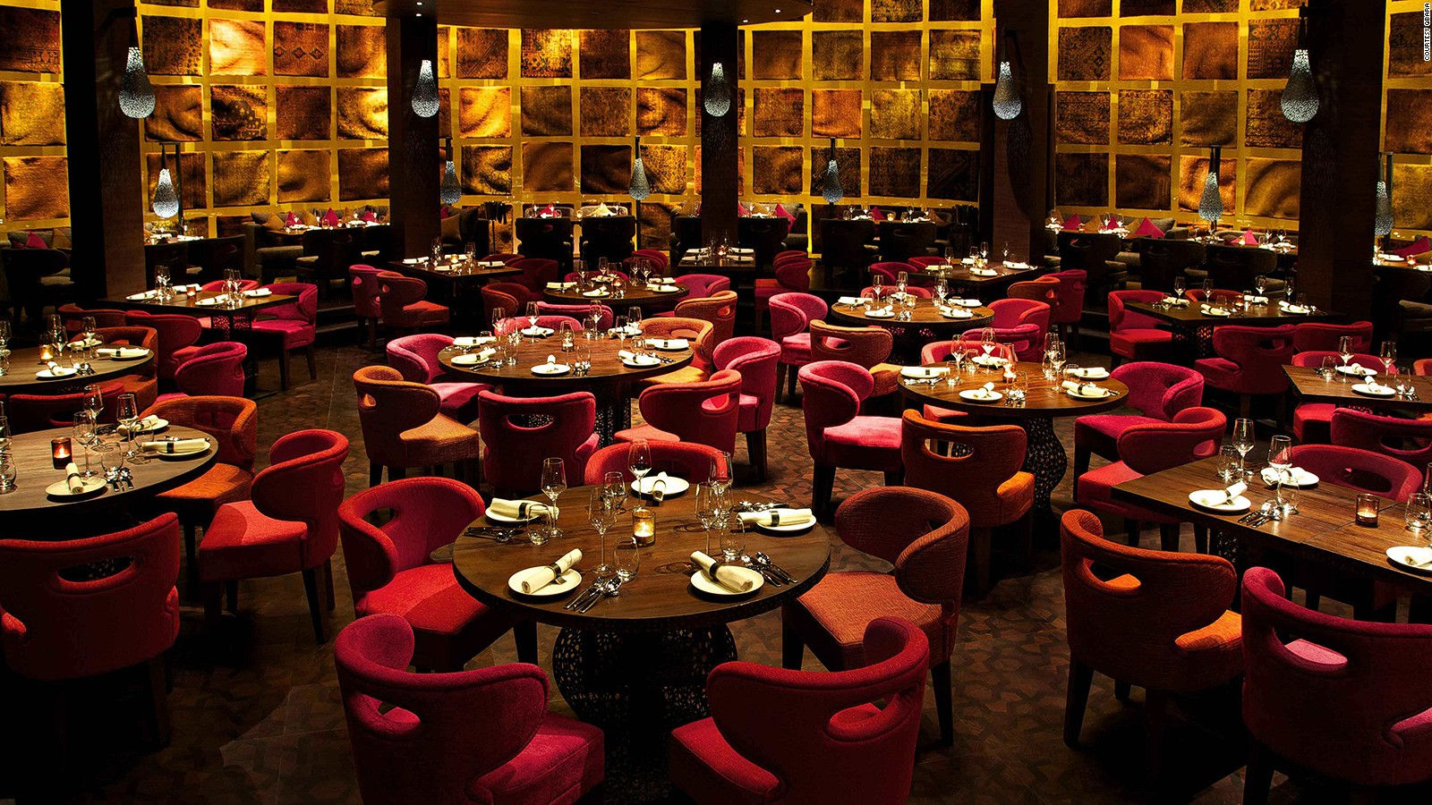 dubai's 10 most decadent restaurants | cnn travel
