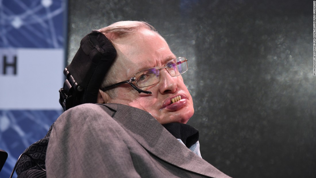Stephen Hawking's giving us all about 1,000 years to find a new place to live