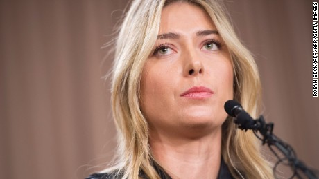 Head CEO: Sharapova ban has element of 'Russia bashing'