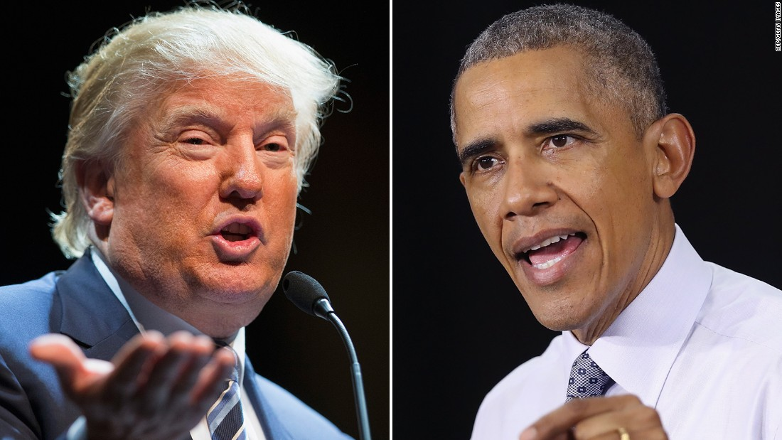 A few times Obama and Trump agreed on foreign policy ...