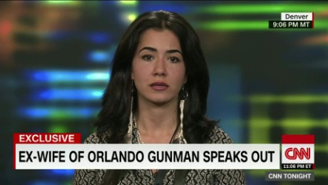 Exclusive: Orlando shooter's ex-wife speaks out
