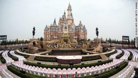 First look at Shanghai Disneyland