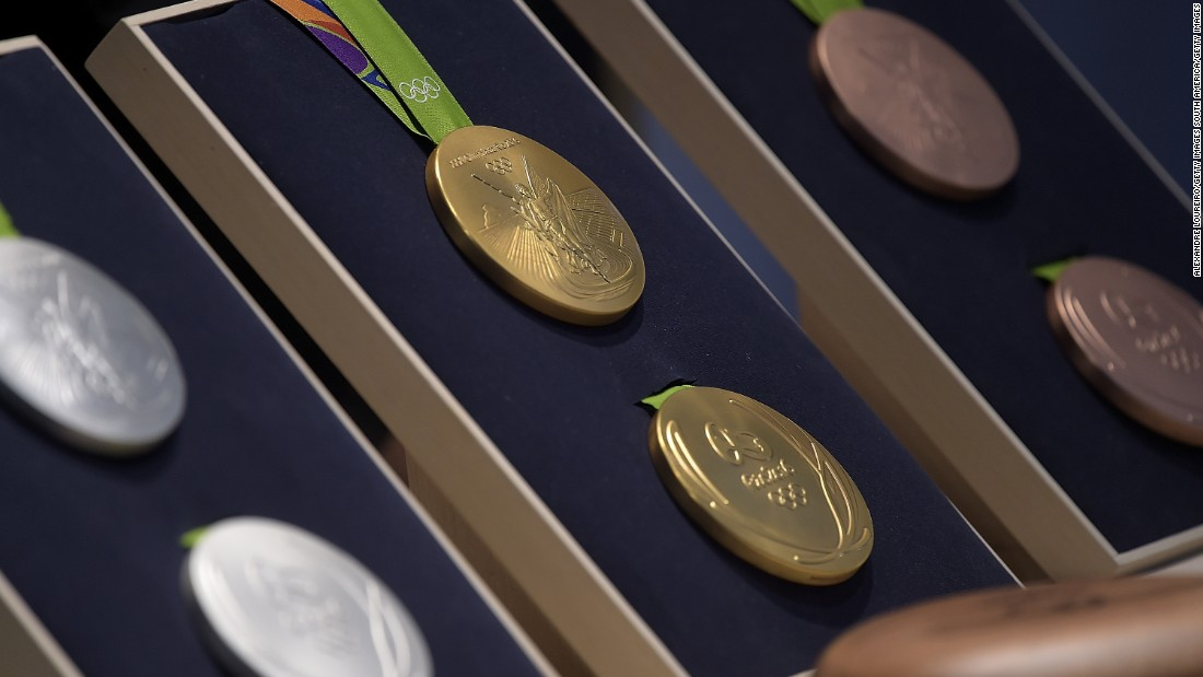With just 51 days to go until the 2016 Olympic Games gets under way, organizers have revealed to the world the medals that Usain Bolt and co. will be battling it out for in Rio de Janeiro.