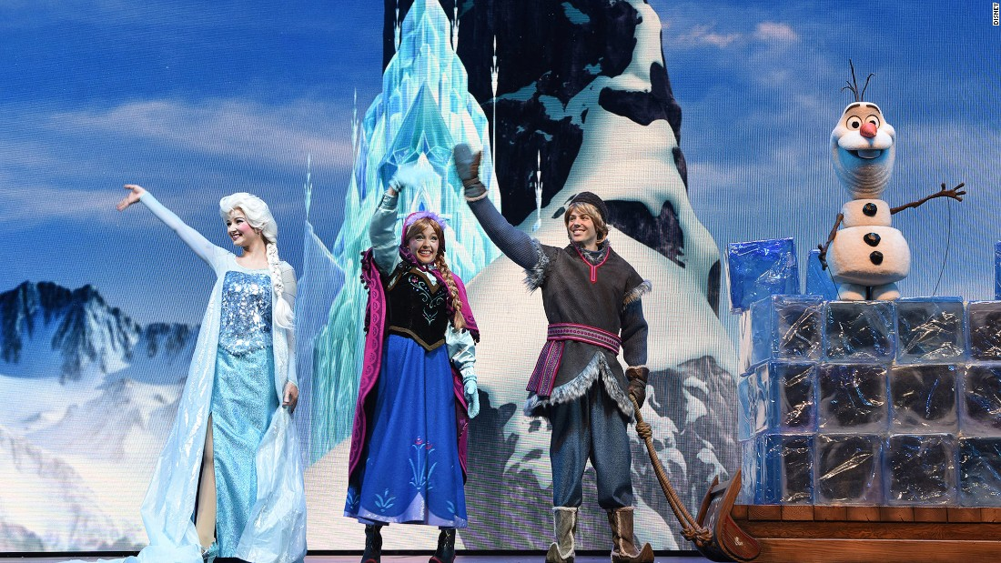 "Let it go? You wish. The park's Evergreen Playhouse offers live ""Frozen"" performances."