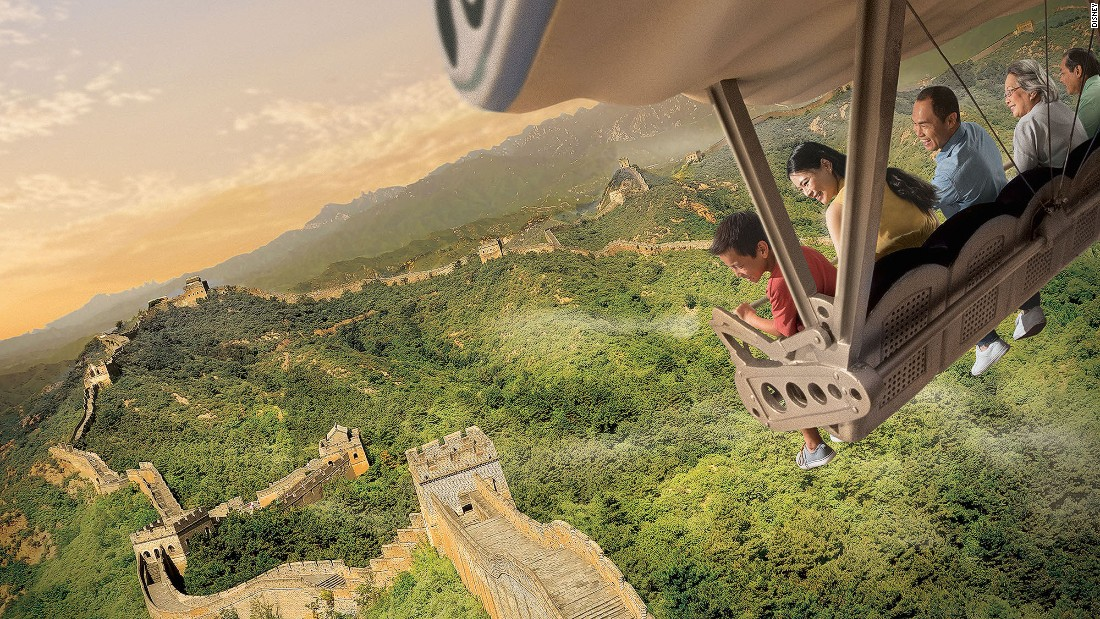 Park designers have given Disney's Soarin' attraction a re-mastering. Soaring Over the Horizon takes travelers through six continents with a new aerial tour.