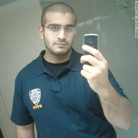 In this undated photo recived by AFP on June 12, 2016, shows Omar Mateen, 29, a US citizen of Afghani descent from Port St. Lucie, Florida, from his MYSPACE.COM page, who has been named as the gunman in the mass shootings at the Pulse nightclub in Orlando, Florida.