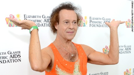 "Richard Simmons attends the Elizabeth Glaser Pediatric AIDS Foundation's 24th Annual ""A Time For Heroes"" in June 2013 in Los Angeles, California."