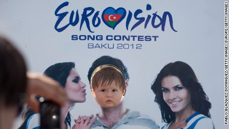 The 2012 Eurovision Song Contest created a party atmosphere in Baku