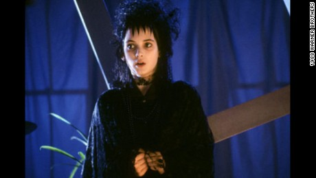 "Winona Ryder was one of the stars of ""Beetlejuice."""
