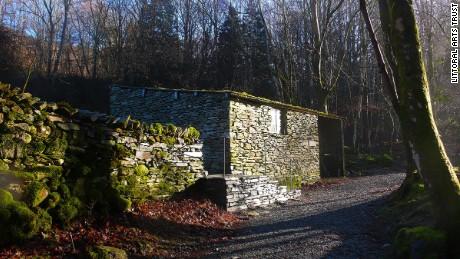 The Merz barn in Cumbria, England.