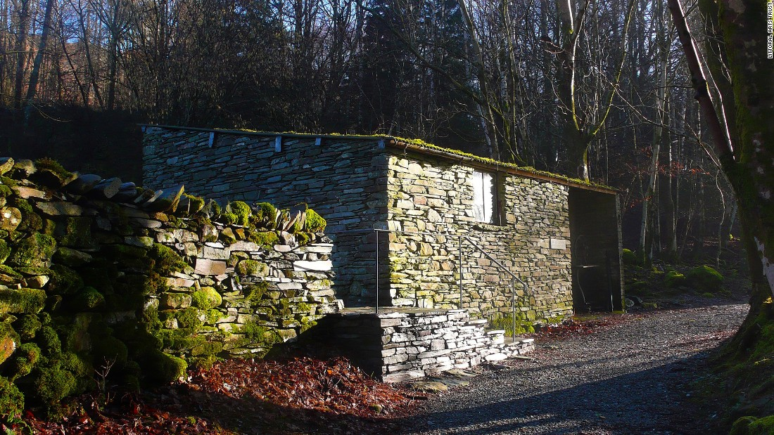 "Schwitters spent much of his later life in the Lake District in northwest England, where in 1948 he constructed this ""Merz Barn"" in a remote woodland. He set about creating it after his life's work, the original Merzbau in Hanover, was destroyed in World War II. After it was badly damaged in a storm, <a href=""http://www.gmurzynska.com/"" target=""_blank"">Galerie Gmurzynska</a> has provided a $35,000 grant to save it."