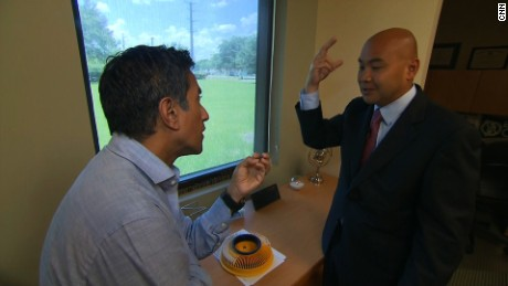 Dr. Joshua Stephany speaks with CNN Chief Medical Correspondent Dr. Sanjay Gupta about the crime scene.