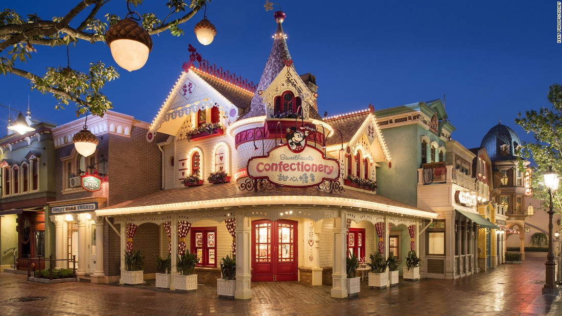 Mickey Avenue's Sweethearts Confectionery is meant to represent the childhood home of Minnie Mouse.