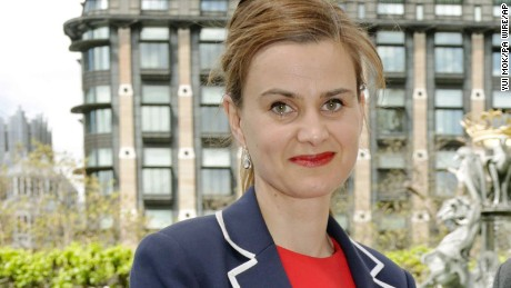 Jo Cox shooting. File photo dated 12/05/15 of Labour MP Jo Cox, who has been shot in Birstall near Leeds, an eyewitness said. Issue date: Thursday June 16, 2016. See PA story POLICE MP. Photo credit should read: Yui Mok/PA Wire URN:26626873