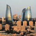 baku f1 flame towers
