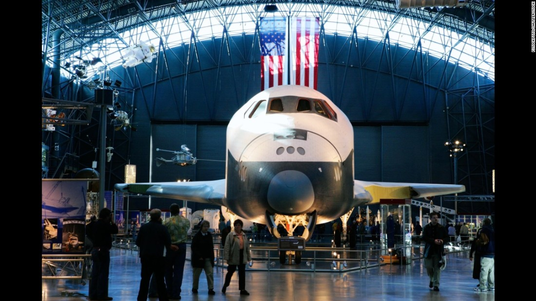 The Smithsonian National Air and Space Museum in Washington tied for third place with 6.9 million visitors in 2015.