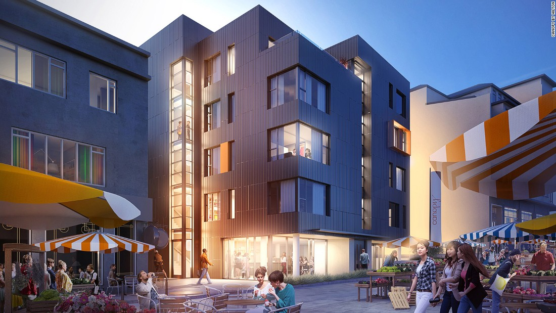 The big hotel chains are diversifying with new offshoot brands aimed at younger travelers. Canopy by Hilton Reykjavik City Centre, the first in Hilton's Canopy line, is set to open in Iceland in July.