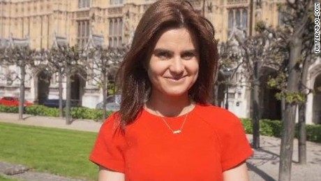 British politician Jo Cox dies after being stabbed, shot