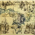 Pietro Ruffo map and dragonflies