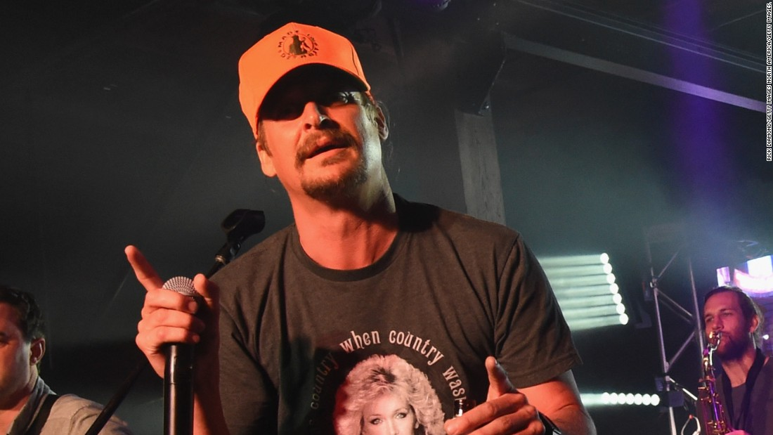 Kid Rock tweets tease US Senate run in Michigan