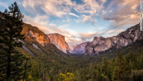 They'll also visit Yosemite National Park in California.