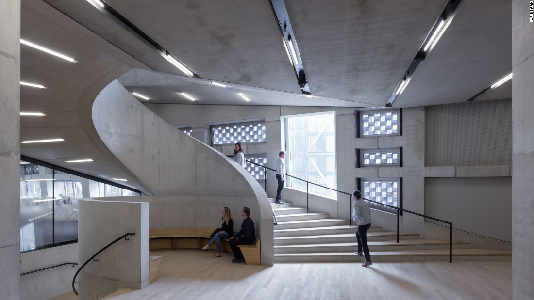 Switch House, Tate Modern (interior)