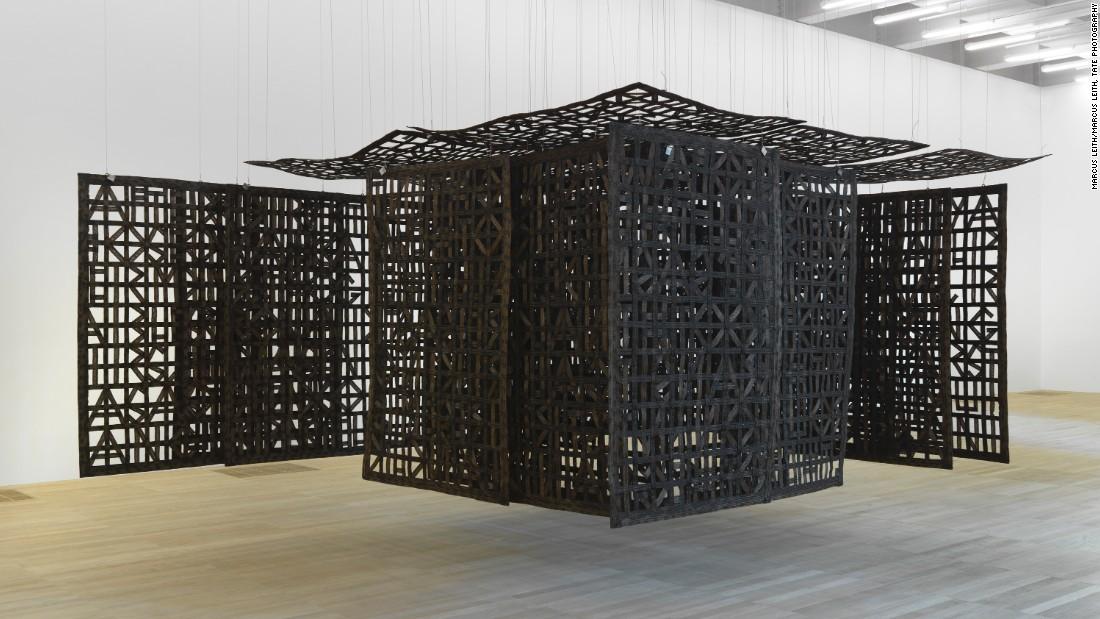 Pavilion Suspended in a Room I 2005, Cristina Iglesias