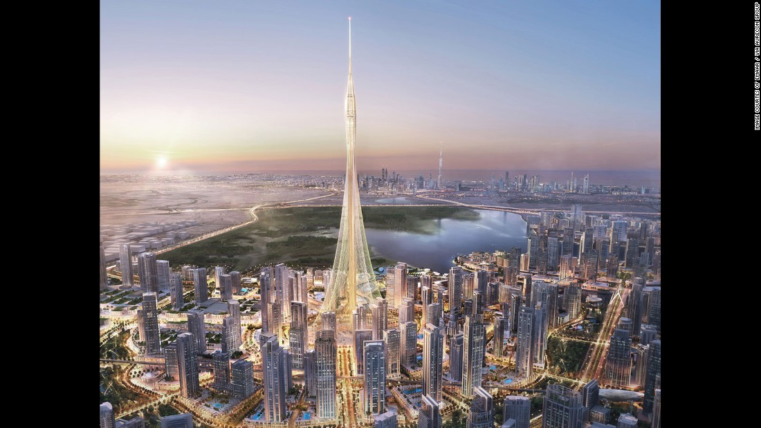 The expected completion date for The Tower in Dubai is 2020. <br /><strong><br />Height: </strong>928m (3,044ft) <strong><br />Architect: </strong>Santiago Calatrava