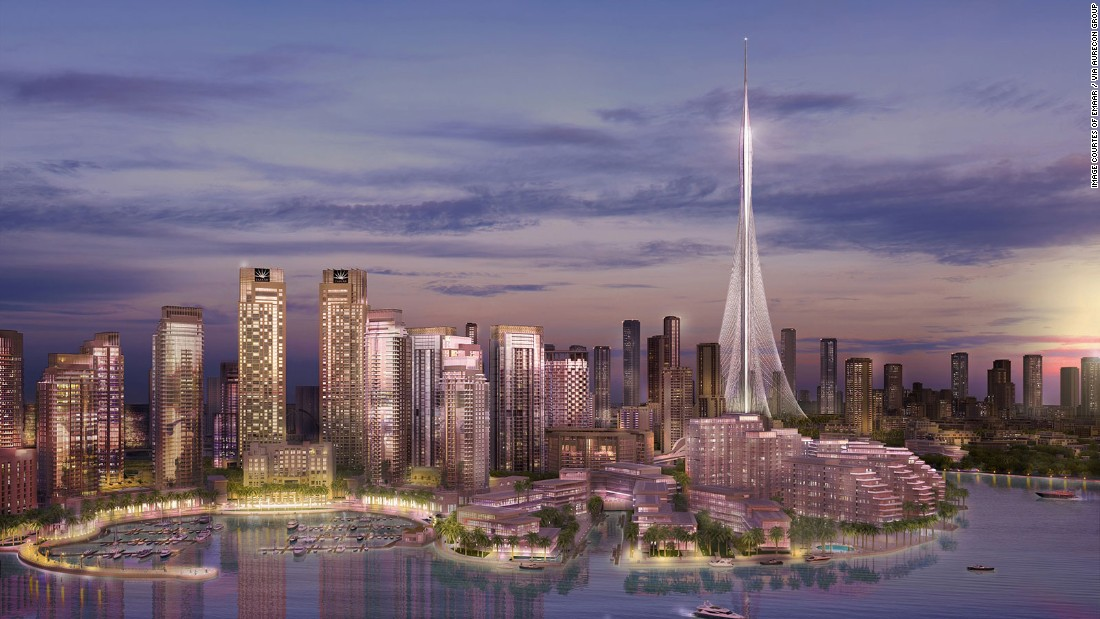 The building will hold several observation decks in its oval-shaped peak. One deck will offer a 360-degree view of the city. <br /><strong><br />Height: </strong>928m (3,044ft) <strong><br />Architect: </strong>Santiago Calatrava