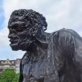 Frankenstein statue Plainpalais Geneva