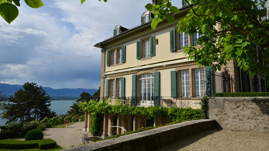 In June 1816, this villa overlooking Lake Geneva hosted five young people from England, including Mary Shelley and romantic poet Lord Byron. It was here Shelley first related her Frankenstein tale.