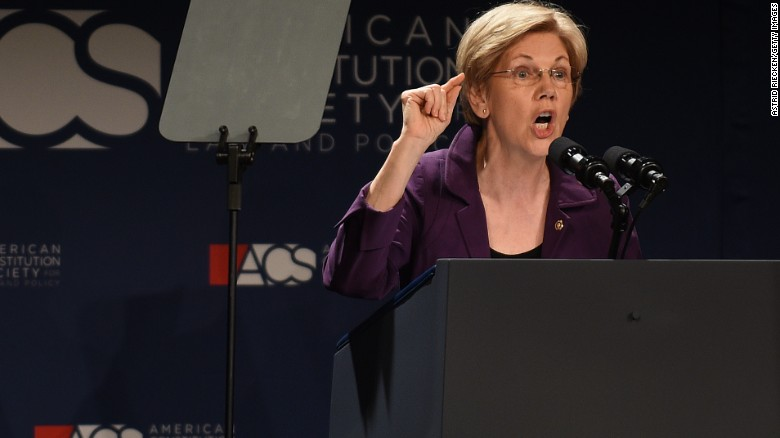 Elizabeth Warren: Trump a 'thin-skinned, racist bully'