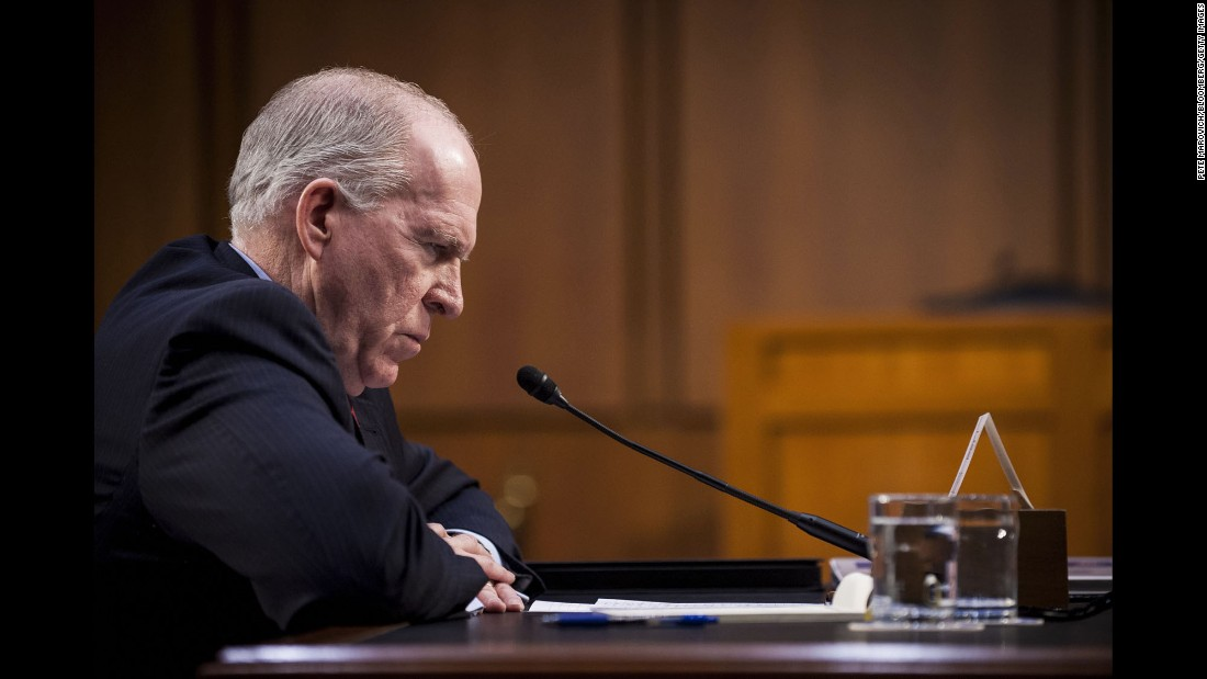 "CIA Director John Brennan speaks to the Senate Select Committee on Intelligence on Thursday, June 16. He said the ISIS militant group <a href=""http://www.cnn.com/2016/06/16/politics/john-brennan-cia-isis/"" target=""_blank"">remains as dangerous as ever</a> despite efforts to crush it militarily."