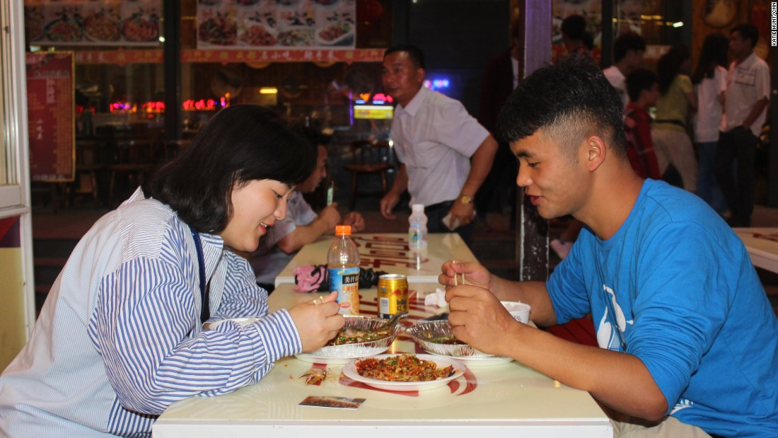 Most of the province's signature delicacies can be found in night markets in Guiyang and Anshun.