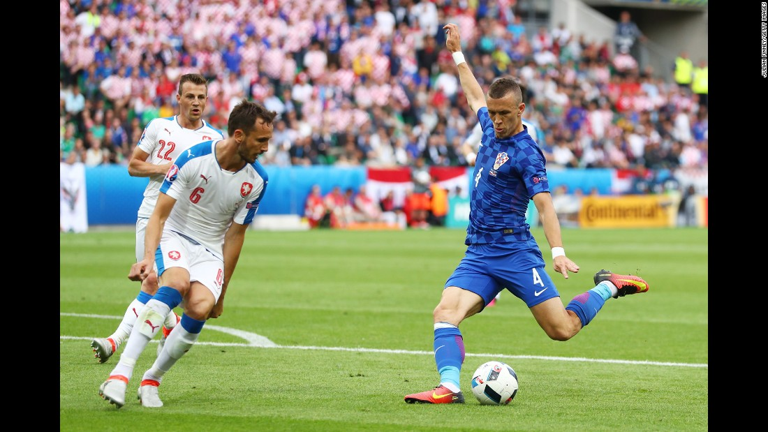 Ivan Perisic opened the scoring with a first-half goal.