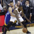 LeBron Steph Curry nba finals 1
