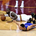 LeBron Steph Curry nba finals 4