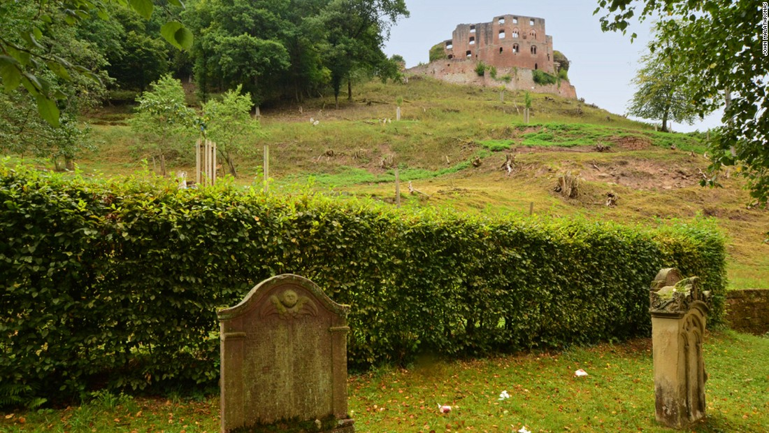 The atmospheric village of Frankenstein in Pfalz, Germany, may have also been an inspiration for Mary Shelley.
